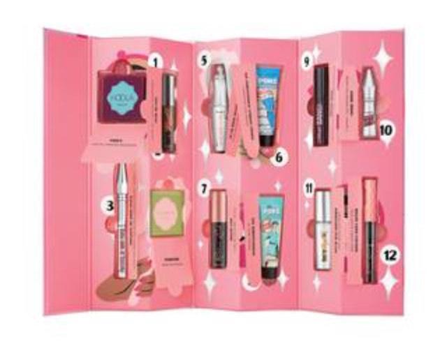 Benefit - Shake Your Beauty' Makeup Advent Calendar with free gift Now £49.72 @ Debenhams