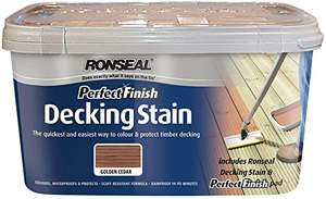 Ronseal Perfect Finish Ultimate Decking Stain Charcoal - 2.5L £2.50 instore @ Asda, Trafford Park, Manchester