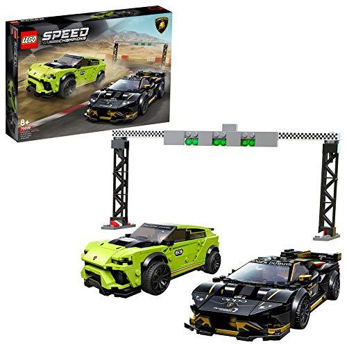 LEGO Speed Champions 76899 Lamborghini Urus ST-X & Lamborghini Huracán Super Trofeo EVO Race Cars Set - £36.60 @ Amazon