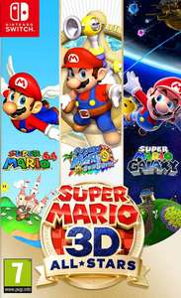 New Release Super Mario 3D All-Stars Nintendo Switch £44 @ Asda In-Store