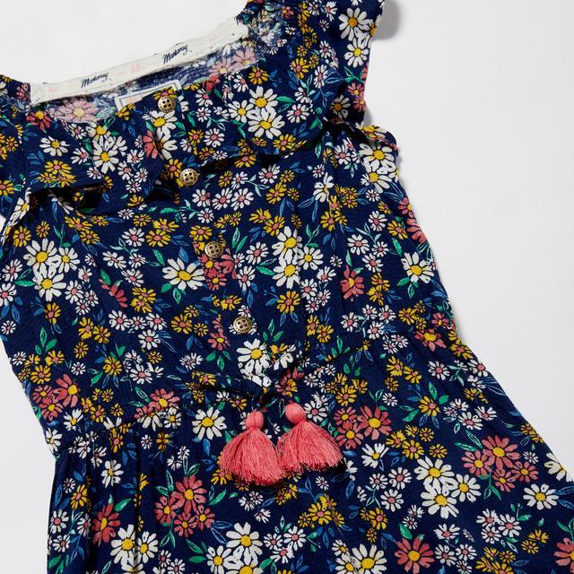 Mantaray - Girls' Navy Floral Print Jumpsuit - £10 delivered @ Debenhams