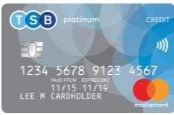 0% interest for up to 29months on platinum balance transfers creditcard @ TSB