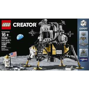 LEGO Creator 10266 NASA Apollo 11 Lunar Lander £71.14 delivered at Squizzas
