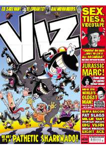 Celebrate Viz's 300th issue with 3 issues for £1 (subscription required)