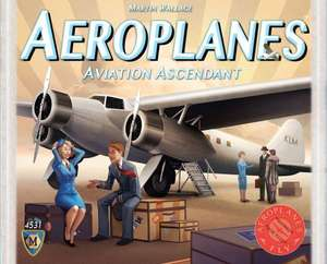 Aeroplanes: Aviation Ascendant Board Game £14.99 at Play Board Games