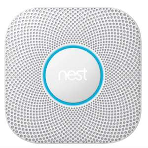 Google Nest Protect - 2nd Gen Smoke & Carbon Monoxide Alarm (Wired) £66.64 / Battery version £67.91 using 15% discount @ Squizzas