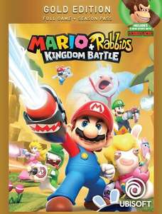 Mario + Rabbids Kingdom Battle Gold Edition - Nintendo Switch - £19.99 + delivery at Ubisoft Store