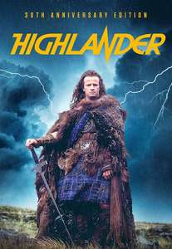 Highlander (30th Anniversary Edition) (1986) £3.99 @ iTunes