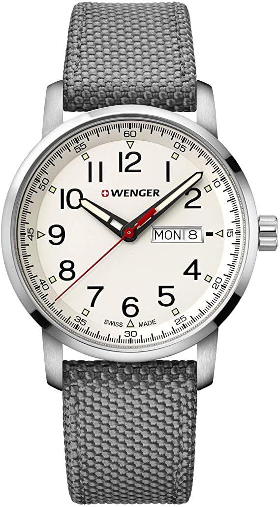 Wenger Attitude Heritage Men's Grey Fabric Strap Watch - £80 @ H Samuel