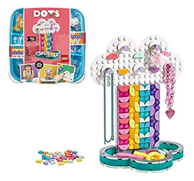 LEGO DOTS 41905 Rainbow Jewellery Stand - £7.98 Prime / +£4.49 non Prime @ Amazon