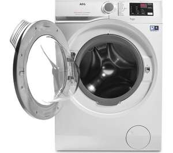 AEG L6FBI842N Freestanding Washing Machine, 8kg Load, A+++ ER, 1400rpm Spin £349 at John Lewis and Partners + 2 years warranty