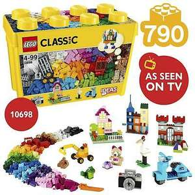 LEGO Classic 10698 Large Creative Brick Box Set 790 Pieces - £25.95 @ VeloctiyElectronics eBay