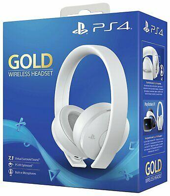 Sony GOLD Wireless PS4 Headset - White £56.30 @ ebay / Argos