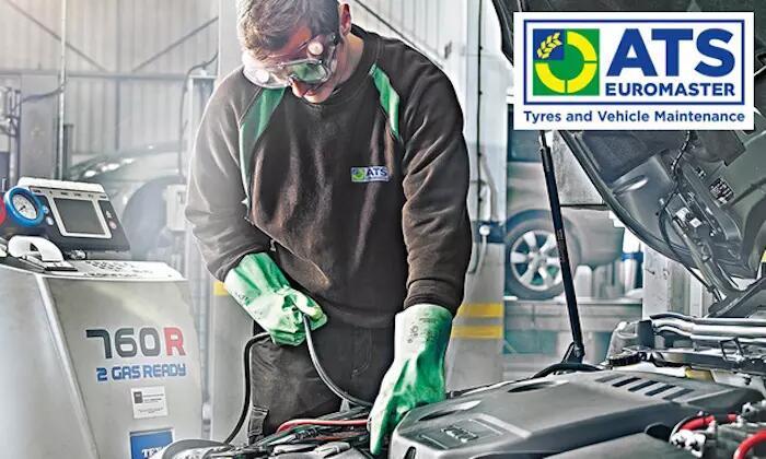 R134A refrigerant: car air-con recharge £38.99 @ ATS EUROMASTER via GROUPON