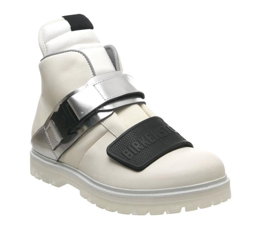FASHION! Mens Birkenstock X Rick Owens Rotterhiker White Size 10 £267 @ OffCuts