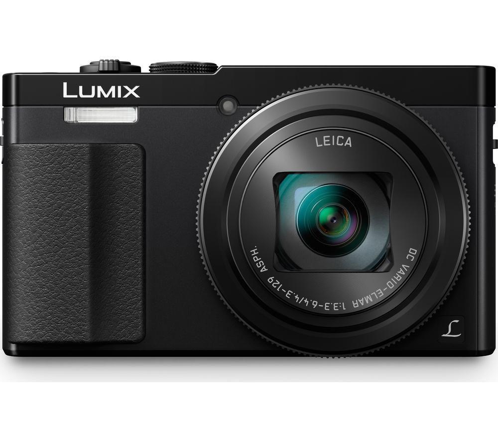 PANASONIC Lumix DMC-TZ70EB-K Superzoom Compact Camera, £159.97 at Currys PC World
