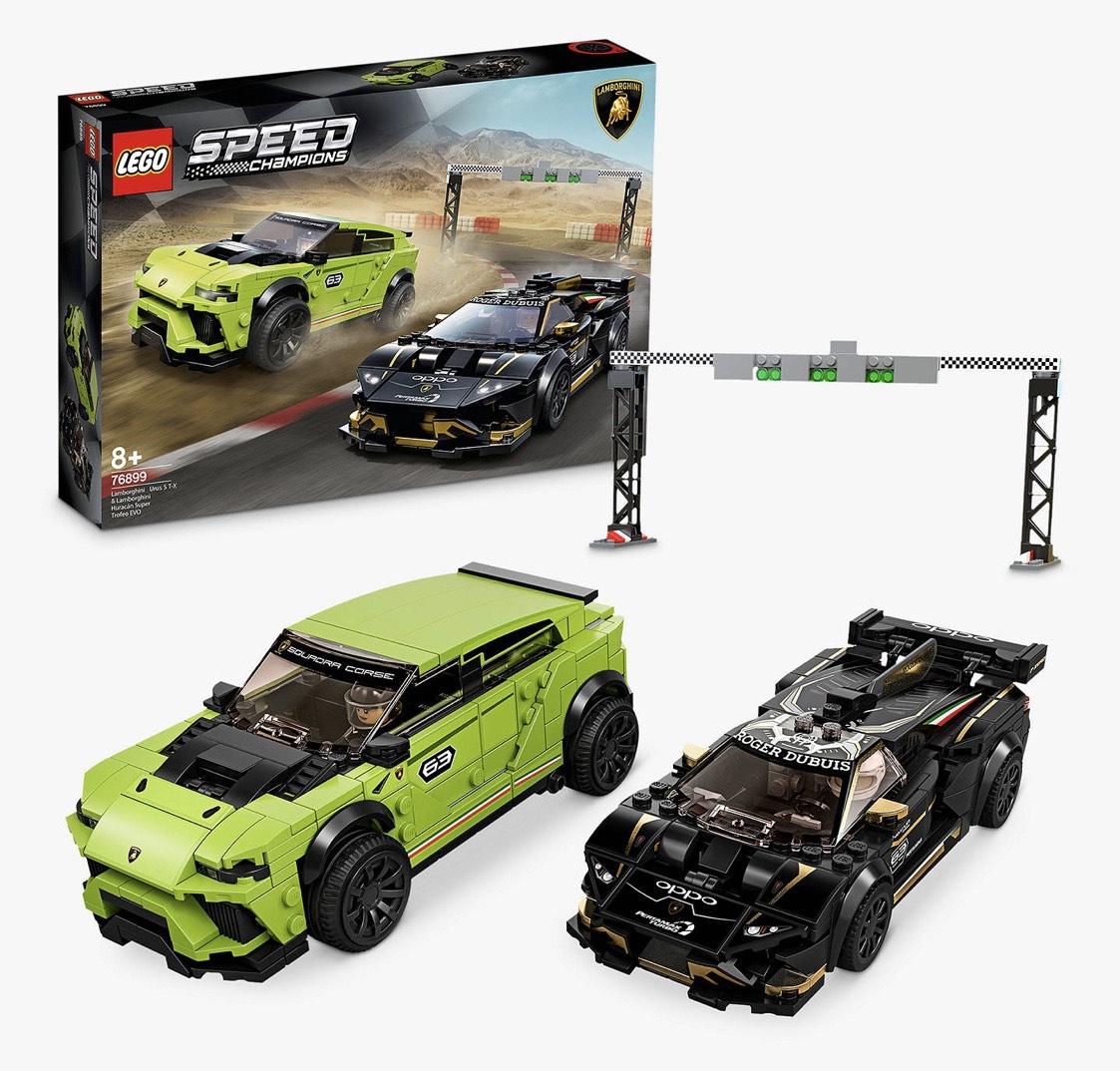 LEGO Speed 76899 Champions Lamborghini Urus & Huracán - £36.60 Argos