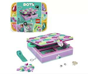 LEGO DOTS 41915 Jewellery Box Arts & Crafts for Kids Set £13.50 Free Click and collect at Argos
