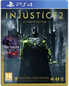 Injustice 2 Ultimate Edition PS4 - £11.99 delivered @ 365Games