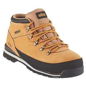 SITE Meteorite Safety Boots TAN £19.99 @ Screwfix c&c