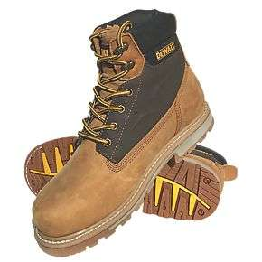 DeWalt Axle Safety Boots Honey £19.99 at Screwfix - click & collect