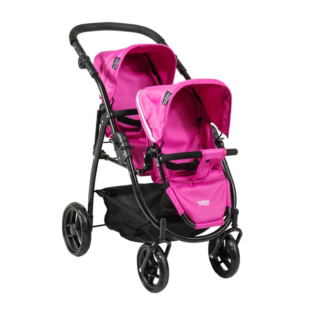 Britax Duo Twin Dolls Buggy (Hot Pink) £29.95 + £3.95 del at PreciousLittleOne