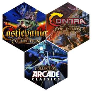 [PS4] Castlevania Collection / Contra Collection / Arcade Classics Anniversary Collection - £3.99 each @ Playstation Network
