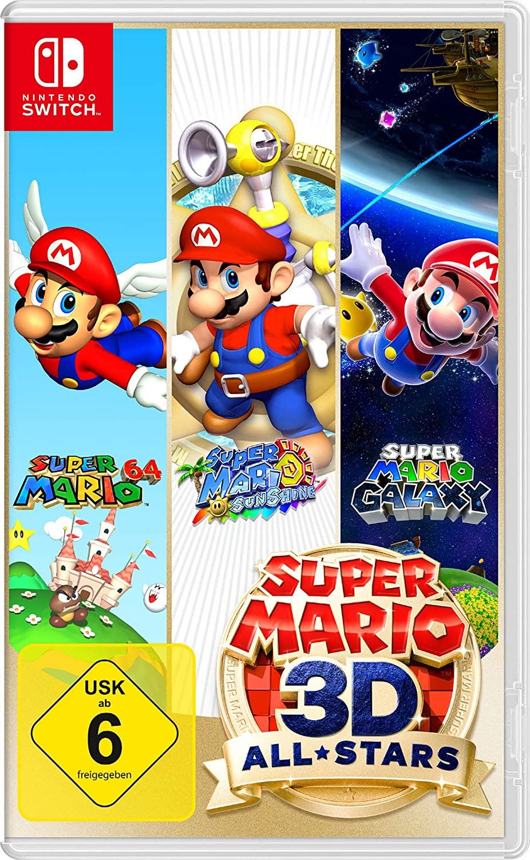 Super Mario 3D All-Stars (Nintendo Switch - German) - £35.47 Delivered @ Amazon