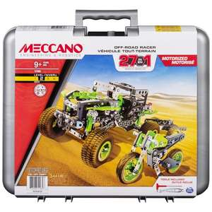 Meccano 27-in-1 Off Road Racers now £30 @ Argos (Free Click & Collect)