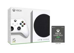 Xbox Series S 512 GB with 3 Month Ultimate Game Pass - White - £279 @ AO