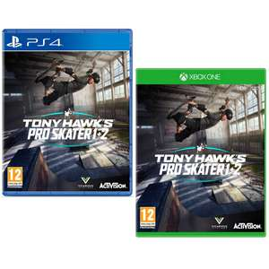 Tony Hawk's Pro Skater 1 + 2 (PS4 / Xbox One) £32.95 Delivered @ The Game Collection