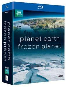 Planet Earth/Frozen Planet Blu-ray Box Set (used) £3.89 delivered @ Music Magpie