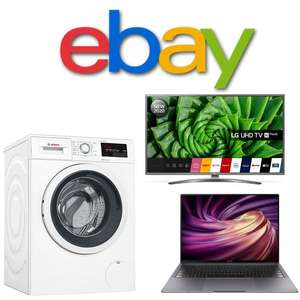 20% off Selected eBay Sellers - £15 min Spend / Max Discount £75
