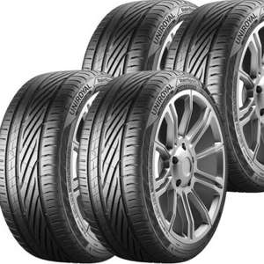 4 x Uniroyal RainSport 5 Tyres - 195 50 15 82V £135.09 // 205 55 16 91V £147.69 // 225 45 17 91Y £196.14 with code @ Demon Tweeks eBay