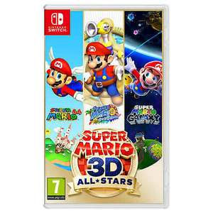 Super Mario 3D All-Stars - Nintendo Switch game (physical copy) - £42.36 w/code @ ebay / The Game Collection Outlet