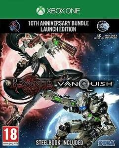 [Xbox One] Bayonetta & Vanquish 10th Anniversary Launch / Steelbook Edition - £13.56 with code delivered @ The Game Collection / ebay