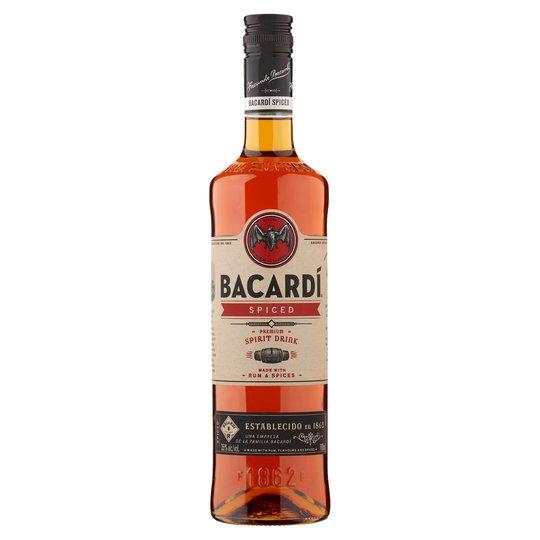 Bacardi Spiced Rum 70cl For £8.46 @ Tesco Stalybridge