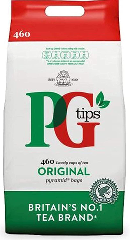 PG Tips Original Pyramid Tea Bags, Large Pack Of 460 Teabags - £6.71 Prime / +£4.49 non Prime @ Amazon
