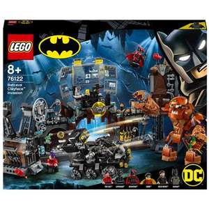 Extra 15% off various Lego @ IWOOT - e.g Batcave Clayface Invasion 76122 £67.99 / Star Wars: Poe Dameron's X-wing Fighter Playset £63.74
