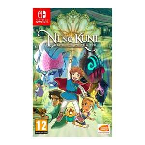 Ni No Kuni Wrath of the White Witch (Switch) - £22.95 @ The Game Collection