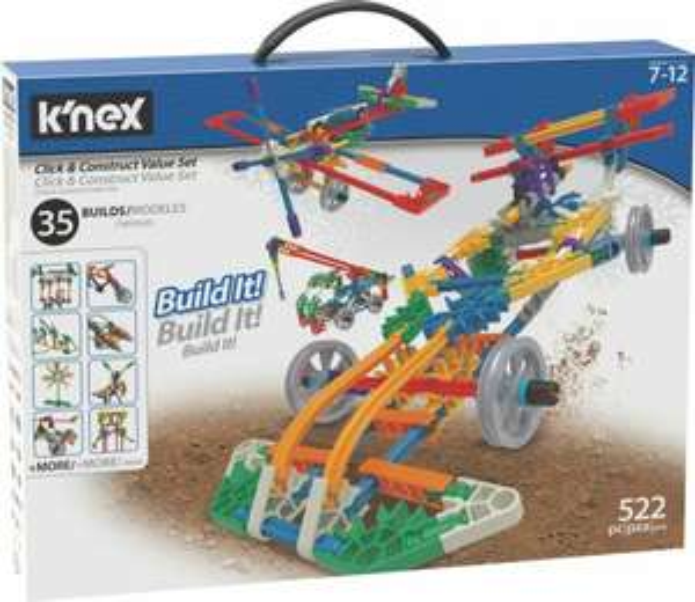K'NEX Click & Construct Building Set (522 pieces) now £12 @ Argos (Free Click & Collect)