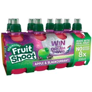 Robinsons fruit shoots 8x 200ml apple and blackcurrant instore 99p @ Lidl (Wadebridge)