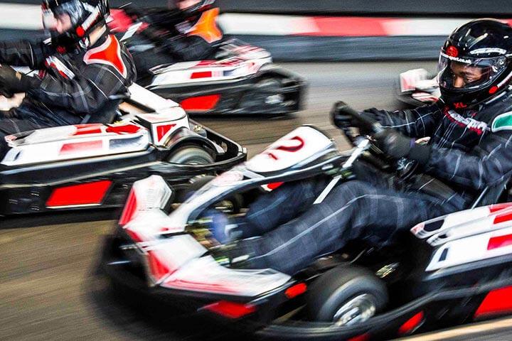 50 Lap Go Karting for 2 people £26.10 with code @ Teamsport Indoor Karting via Activity Superstore