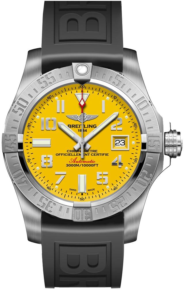 Breitling Avenger II Seawolf Mens Watch – A1733110/I519153S - £2,690 @ Heptinstalls