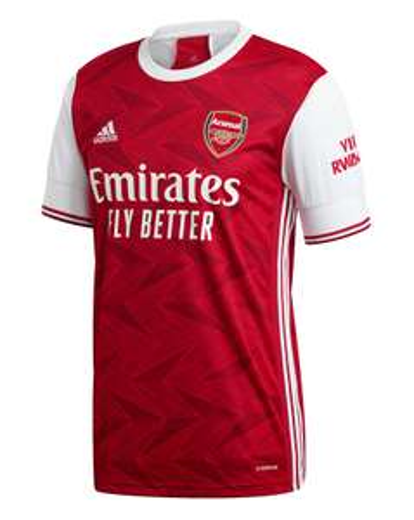 adidas Arsenal FC 2020/21 Short Sleeve Home Shirt - £48.75 @ Jacamo