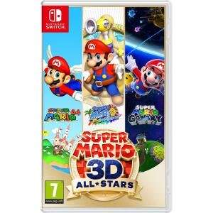 Nintendo Switch Super Mario 3D All-Stars £38.99 delivered with code @ Currys