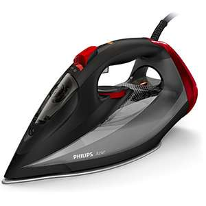 Philips Azur Steam Iron with 250 g Steam Boost, 2600 W and SteamGlide Soleplate, Black - GC4567/86 £49.99 delivered at Amazon