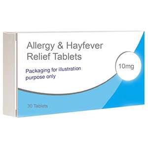 Cetirizine 10mg Allergy Relief tablets x 30 99p Dispatched from and sold by Your247Chemist on Amazon