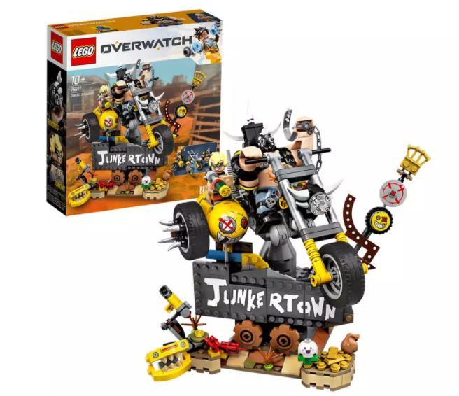 LEGO Overwatch Junkrat & Roadhog Character Figures Set 75977 £14.50 @ Argos
