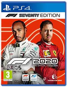 F1 2020 on PS4 and Xbox One £32.99 at Amazon